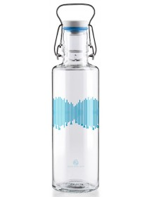 Soulbottle Water is a human right mit Tragegriff (0.6l)