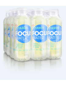 FOCUS WATER antiox Zitrone/Limette (12x50cl)