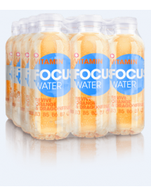 FOCUS WATER revive orange / dragon fruit (12x50cl)
