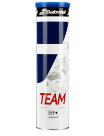 Babolat Team tennis ball (can of 4)