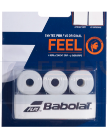 Babolat Pack Syntec Pro & VS Original X3 weiss
