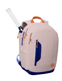 Wilson Roland Garros Premium Backpack Oyster / Navy