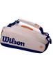 Wilson Roland Garros 9er Schlägertasche Oyster/Navy